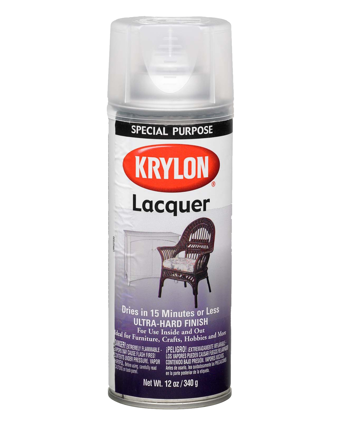 KRYLON® - INDOOR/OUTDOOR LACQUER SPRAY PAINT