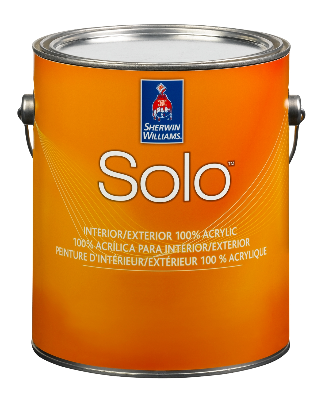 Solo™ 100% Acrylic Interior/Exterior Latex