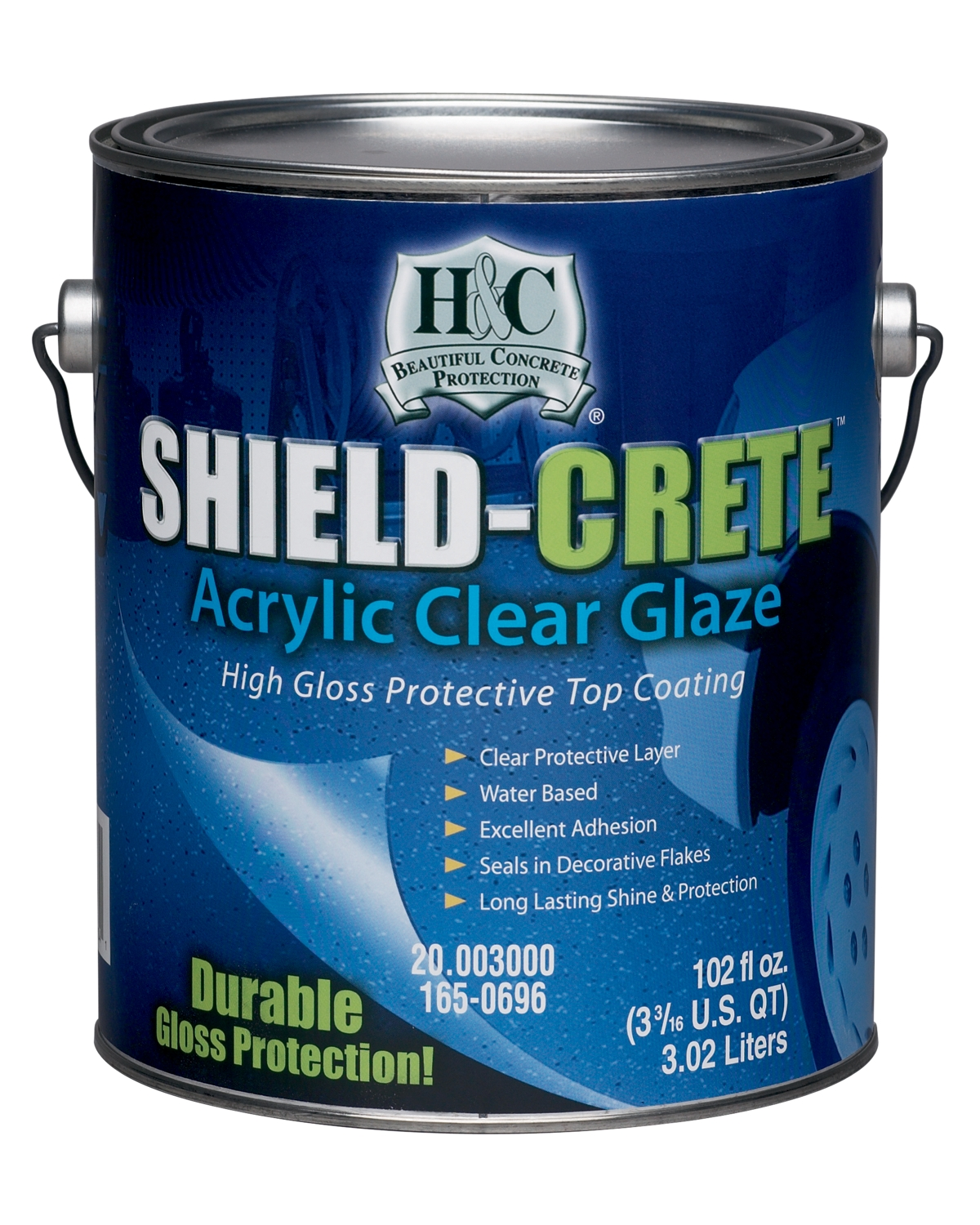 H&C® Shield-Crete® Acrylic Clear Glaze