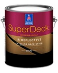 SuperDeck IR Reflective Exterior Waterborne Solid Color Stain