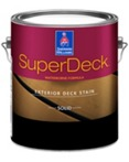 SuperDeck Exterior Waterborne Solid Color Deck Stain