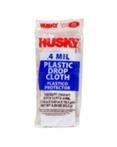 Husky Plastic Drop Cloth