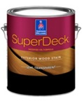 SuperDeck Exterior Oil-Based Semi-Transparent Stain
