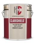 H&C Clarishield Water-Based Wet Look Concrete Sealer