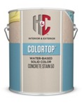 H&C COLORTOP Water-Based Solid Color Concrete Stain 50