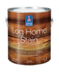 Log Home Stain Waterborne Semi-Transparent Satin Exterior House Stain