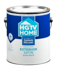 hgtv home exterior latex paint by sherwin williams review mommy. Black Bedroom Furniture Sets. Home Design Ideas