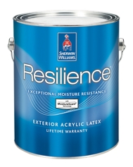 Resilience exterior acrylic latex paint homeowners sherwin williams - Acrylic paint exterior plan ...