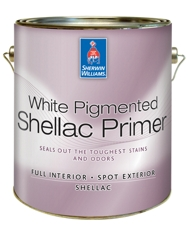 White Pigmented Shellac Primer Homeowners Sherwin Williams