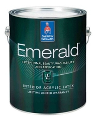 Emerald interior acrylic latex homeowners sherwin Sherwin williams emerald interior paint