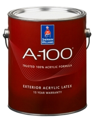a 100 exterior acrylic latex paint homeowners sherwin