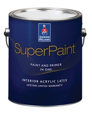 superpaint interior acrylic latex paint architects. Black Bedroom Furniture Sets. Home Design Ideas