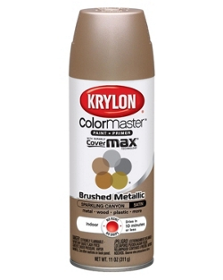 ColorMaster® Paint + Primer Brushed Metallic