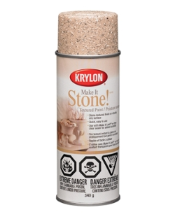make it stone textured paint krylon