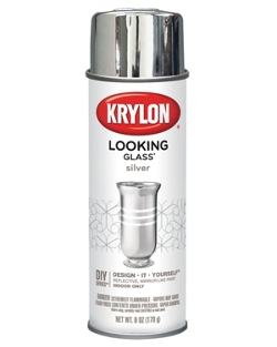 looking glass paint krylon. Black Bedroom Furniture Sets. Home Design Ideas