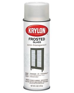frosted glass finish krylon. Black Bedroom Furniture Sets. Home Design Ideas