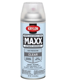 Maxx Spray Paint Matte Clear