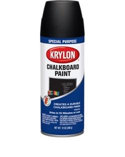 chalkboard paint krylon. Black Bedroom Furniture Sets. Home Design Ideas