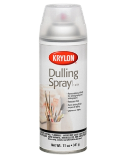 dulling spray krylon. Black Bedroom Furniture Sets. Home Design Ideas