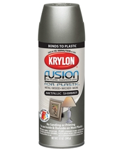 fusion for plastic metallic shimmer krylon. Black Bedroom Furniture Sets. Home Design Ideas