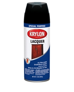 lacquer spray krylon. Black Bedroom Furniture Sets. Home Design Ideas