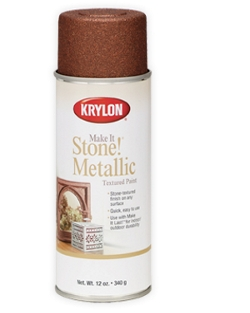 Make It Stone!® Metallic Textured Paint