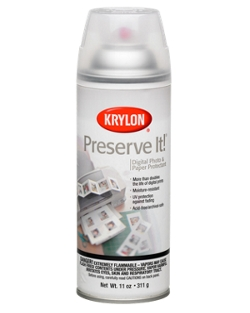 Preserve It!® Digital Photo & Paper Protectant