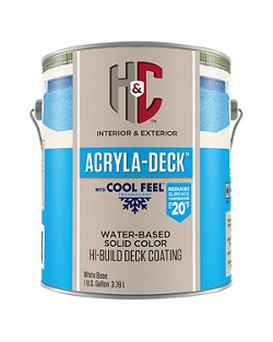H C Acryla Deck Solid Color Hi Build Coating Homeowners Sherwin Williams