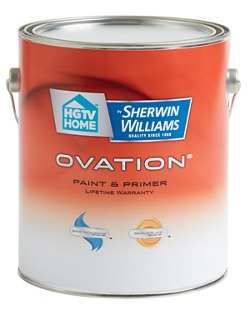 sherwin williams ovation interior latex paint homeowners sherwin. Black Bedroom Furniture Sets. Home Design Ideas