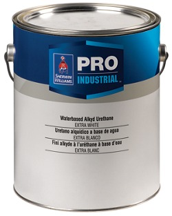 Pro industrial water based alkyd urethane contractors for Exterior water based paint