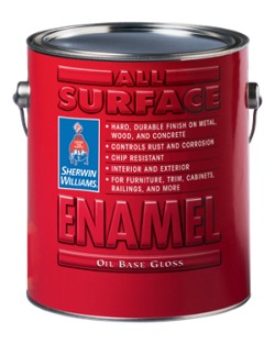 All Surface Enamel Oil Base Homeowners Sherwin Williams