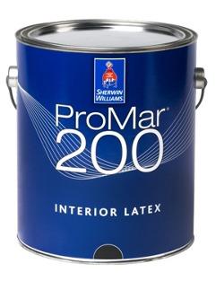 ProMar® 200 Interior Latex Paint - Contractors - Sherwin-Williams