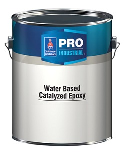 Pro Industrial Water Based Catalyzed Epoxy Architects Specifiers Designers Sherwin Williams
