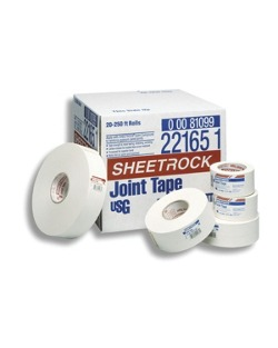 Sheetrock paper joint tape home builders sherwin williams for Gold bond joint compound