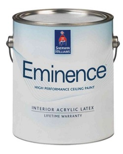 eminence high performance ceiling paint home builders