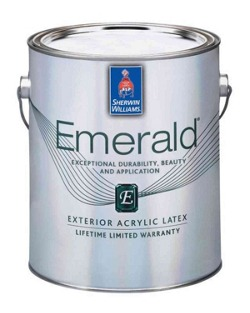 Emerald exterior acrylic latex paint homeowners sherwin williams - Acrylic paint exterior plan ...