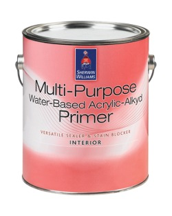 Multi Purpose Water Based Acrylic Alkyd Primer Home Builders Sherwin Williams