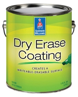 dry erase coating contractors sherwin williams