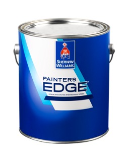 Painters edge interior latex home builders sherwin - Superpaint exterior acrylic latex paint ...