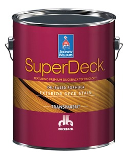 Superdeck Exterior Oil Based Transparent Stain Homeowners Sherwin Williams