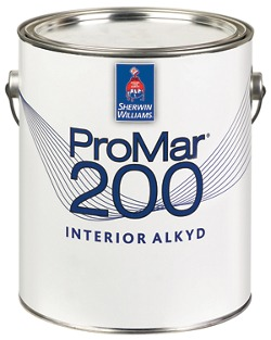 Promar 200 interior alkyd paint contractors sherwin for What are alkyd paints