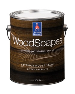 Sherwin Williams Woodscapes Solid Color Acrylic Exterior House Stain