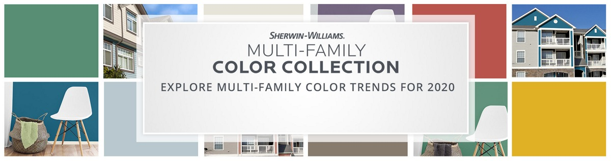 Sherwin-Williams Multi-Family Color Collection. Explore Multi-Family Color Trends for 2020. View the Collection
