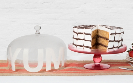 Personalized Cake Stand & Lid