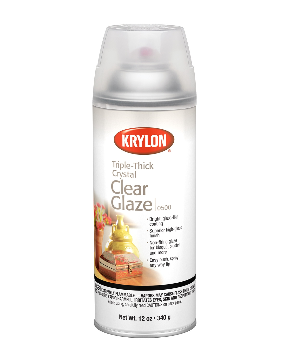 Triple-Thick Crystal Clear Glaze - | Krylon