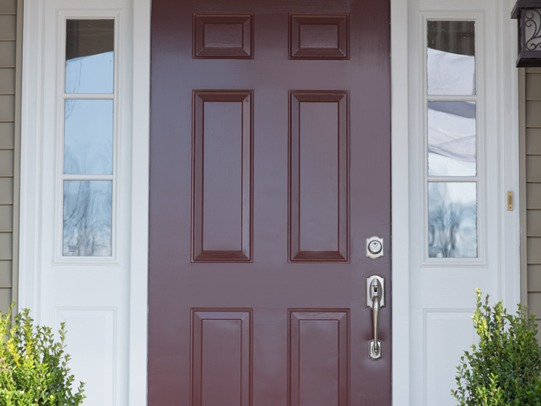 How To Paint A Front Door Snapdry Door Trim Paint