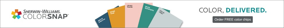 Your Color, Your Way. Sherwin-Williams ColorSnap®. Get Free Color Chips.