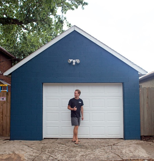 How To Paint A Garage Sherwin Williams