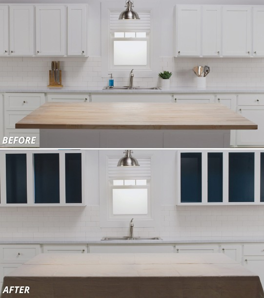 Turn Kitchen Cabinets into Open Shelving | Sherwin-Williams