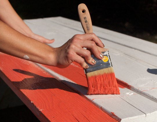best color to paint picnic table rehab an old picnic table youtube